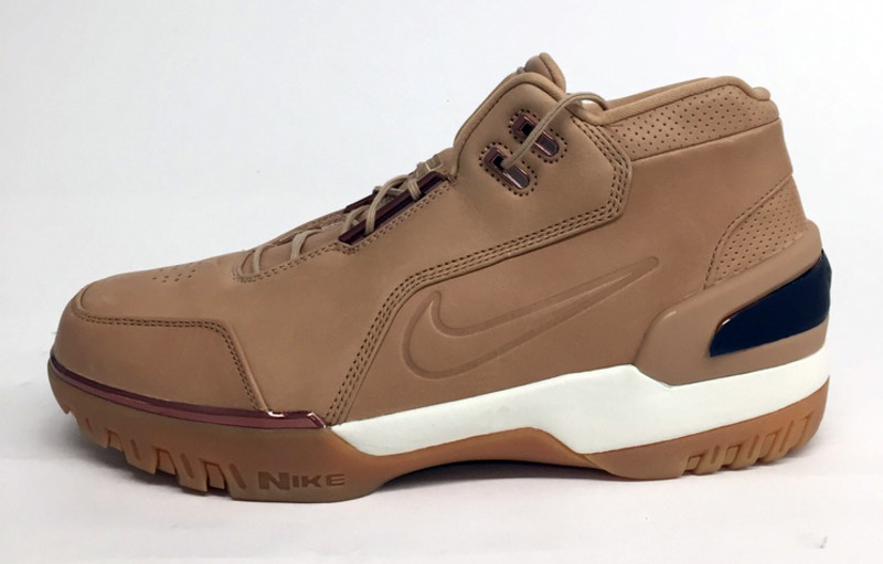 The 'Vachetta Tan' Nike Air Zoom Generation Retro Pays Homage to LeBron's  First All-Star Sneaker