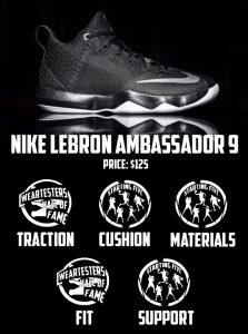Nike Zoom LeBron Ambassador 9 Performance Review Score