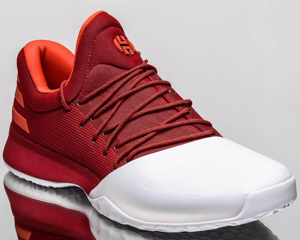 Adidas Hustle White Basketball Shoes