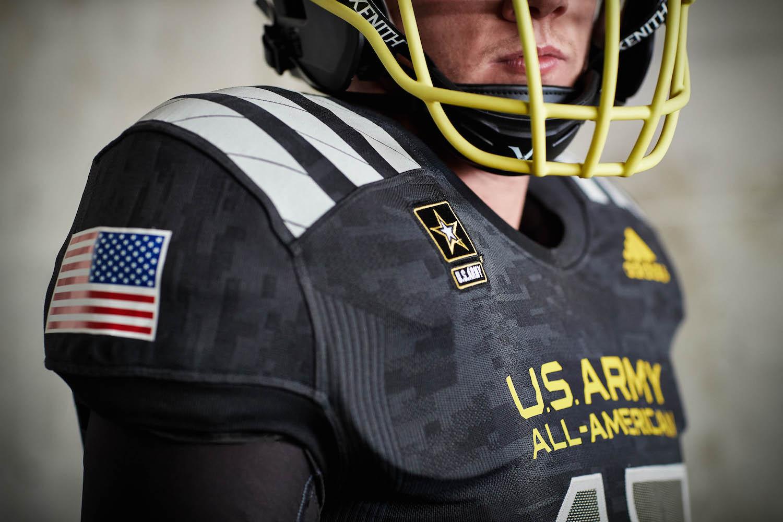 adidas 2017 U.S. Army All-American Bowl Uniforms 458425