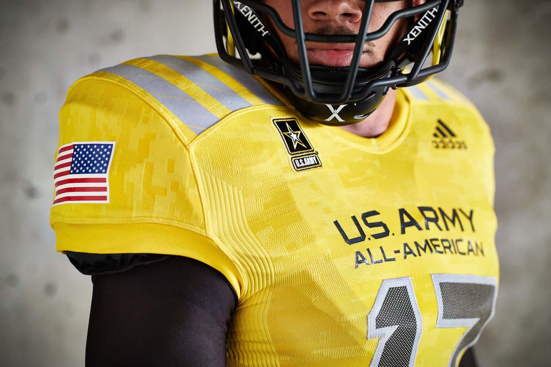 adidas 2017 U.S. Army All-American Bowl Uniforms 458446
