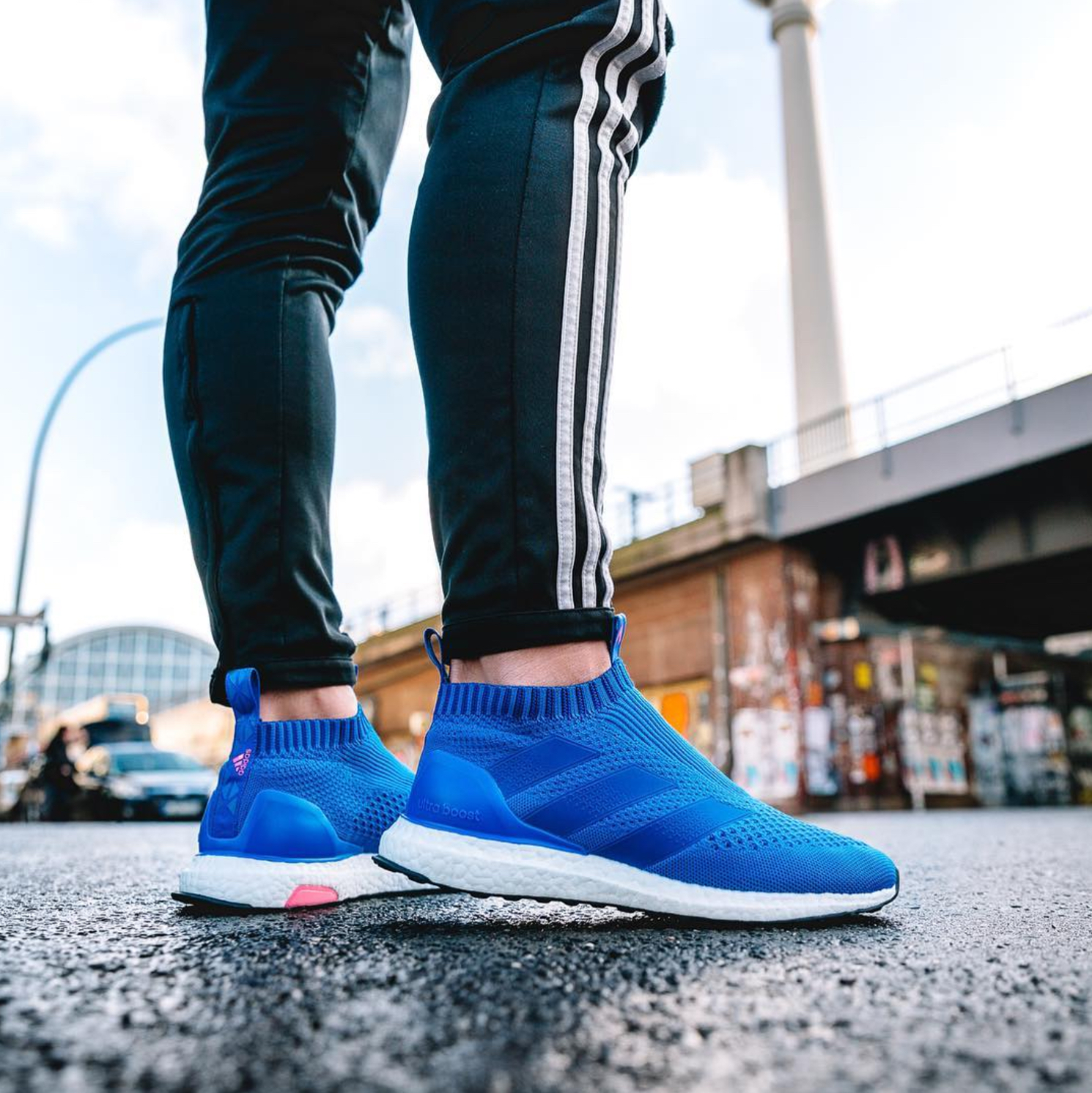adidas Launches a Blue Blast ACE 16+ UltraBoost for New York