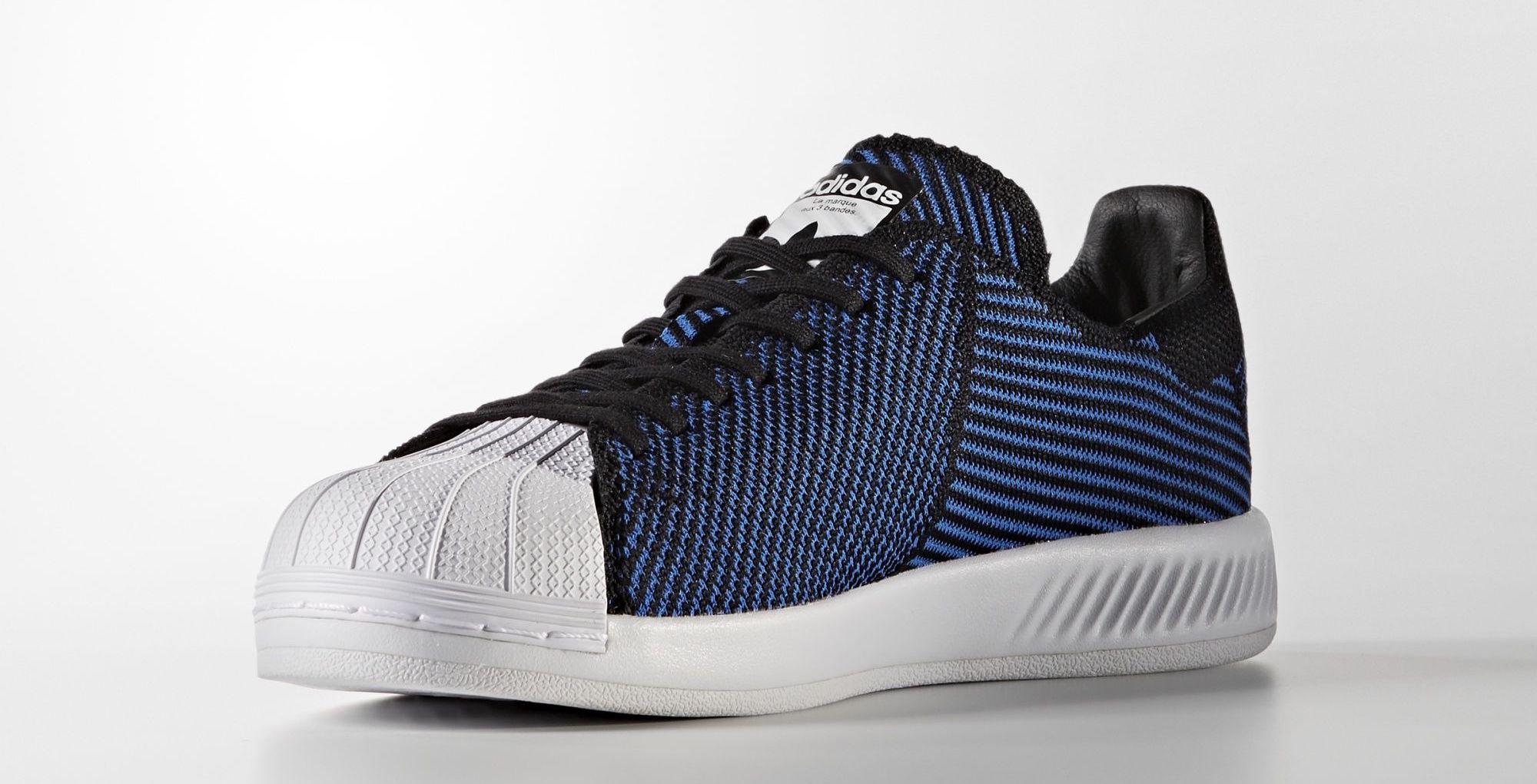 comprare adidas superstar primeknit donne blu > off64%)