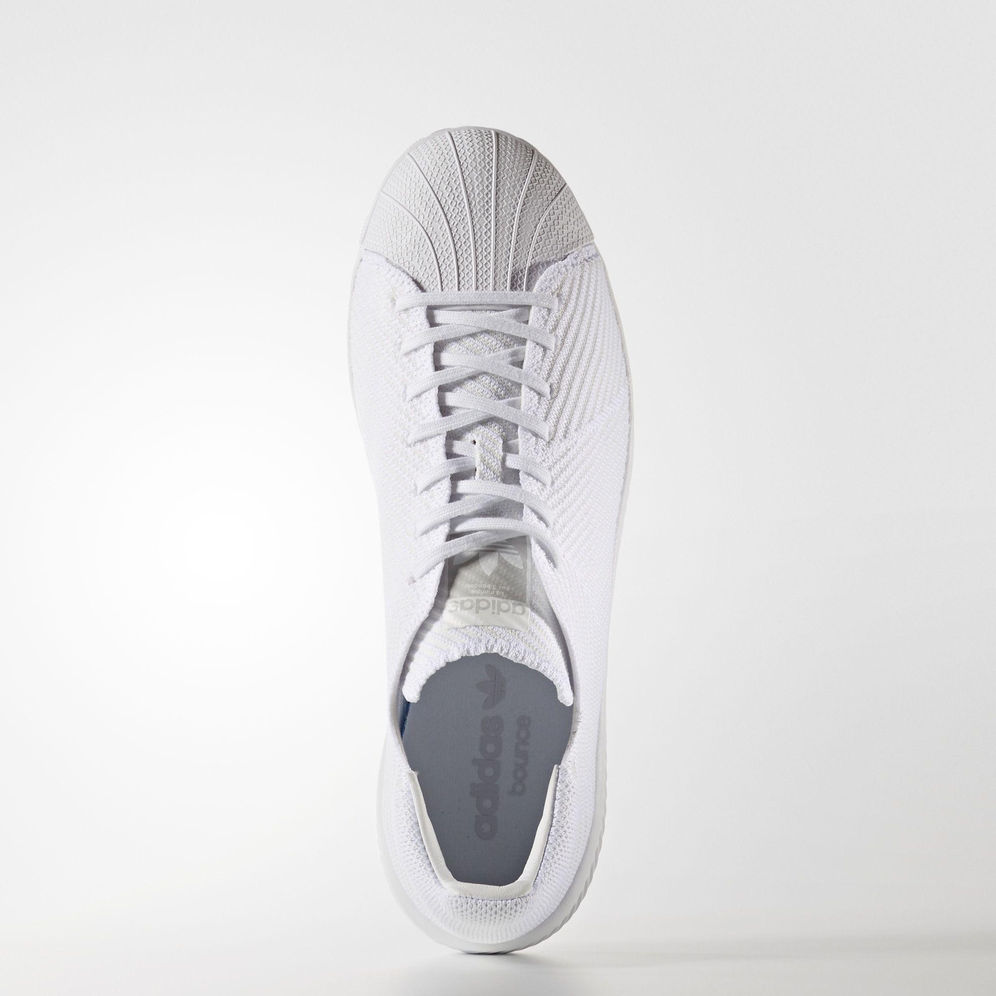 Adidas Superstar Sprett Primeknit Hvit dlj4hRlN