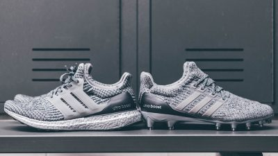 adidas UltraBoost Cleat and UltraBoost 3.0 Silver Pack 1