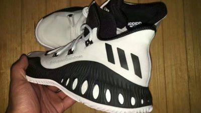 adidas crazy explosive low black white 1