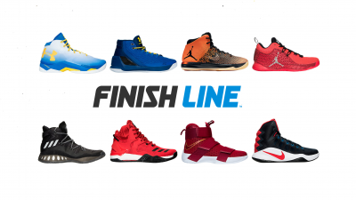 nike basketball shoes at finish line