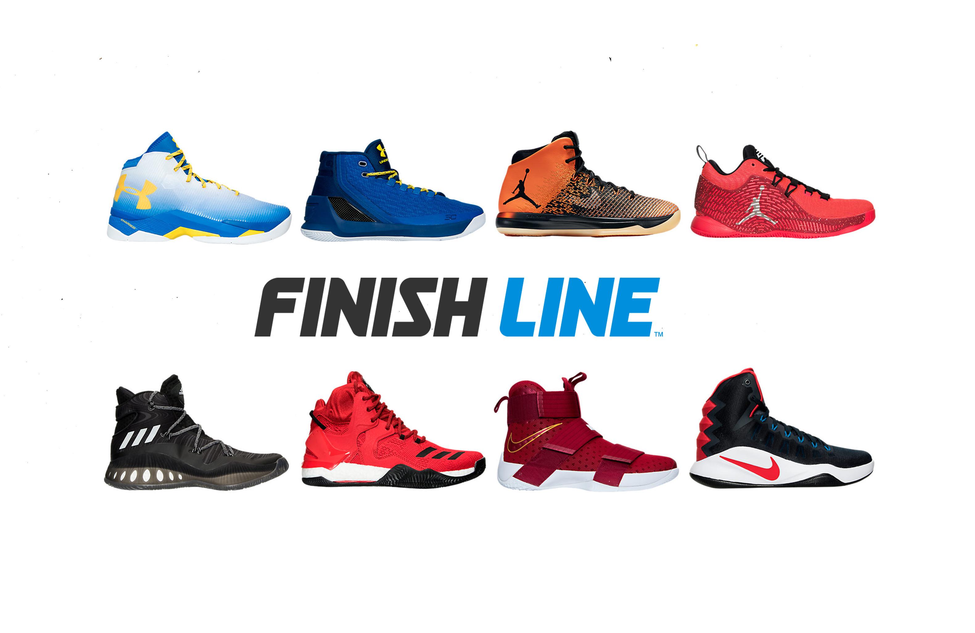 adidas and Nike Basketball Shoes