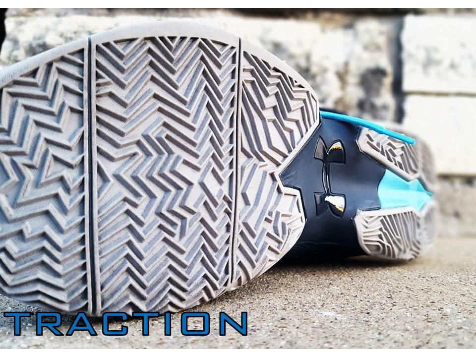 under armour longshot traction slide