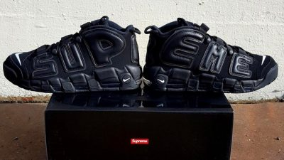 supreme x nike air more uptempo black 1