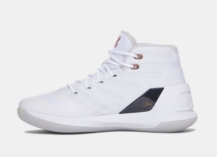 under armour curry 3 rose gold gs kids 4