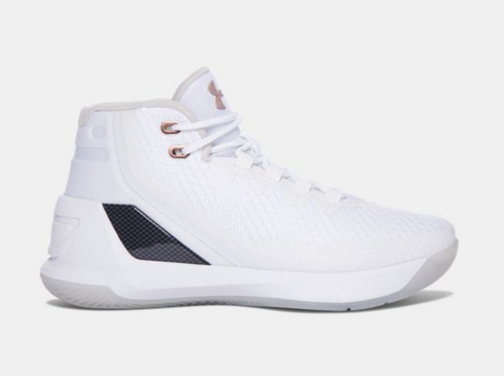 half off 8149e 89c4f Rose Gold UA Curry 3s for the Kids - WearTesters