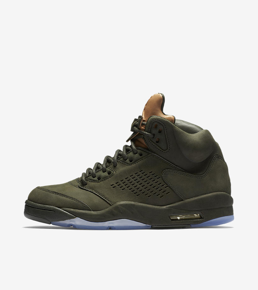 the best attitude 381e4 d1a73 ... bred  the air jordan retro 5 pinnacle in sequoia green is available now  ...