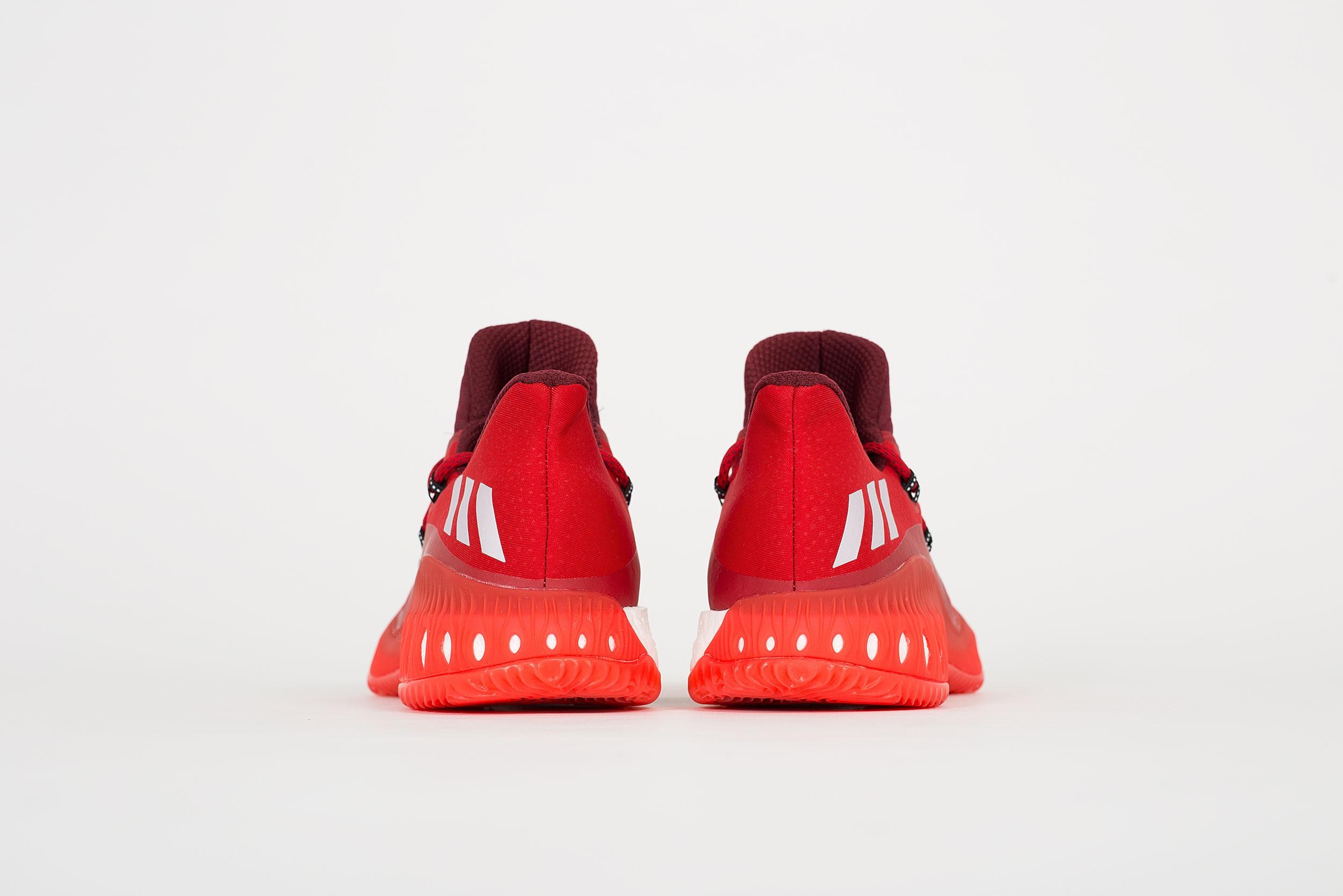 Adidas Gal Eksplosiv Lav Primeknit Rød 5xSIo