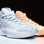 Jordan Melo M13 'Sunset Glow' and 'Ice Blue' Will Release Exclusively at Foot Locker NY Locations
