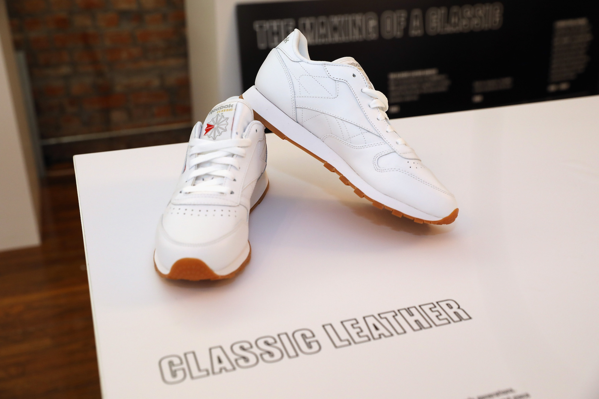 Reebok Classics in the Courtyard pop up 1
