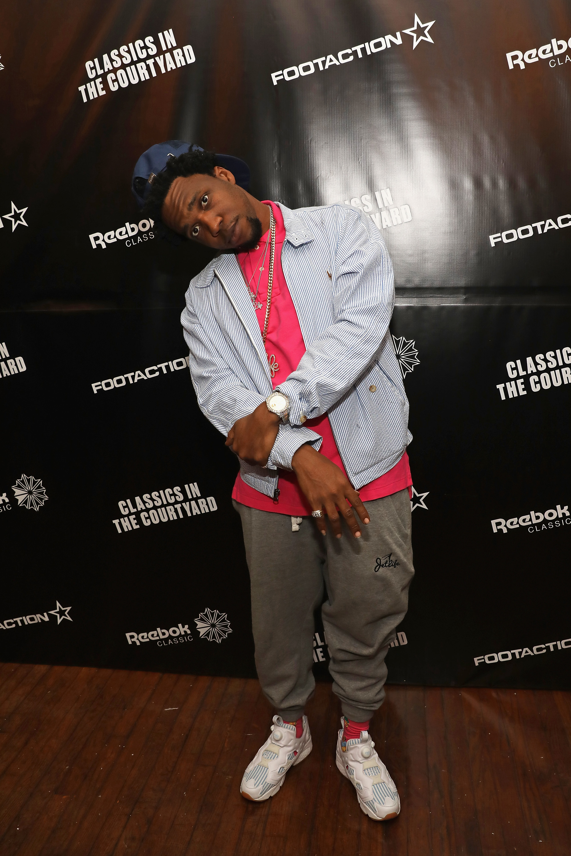 Reebok Classics in the Courtyard teyana taylor cam'ron curren$y 15