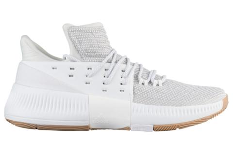 adidas dame 3 white