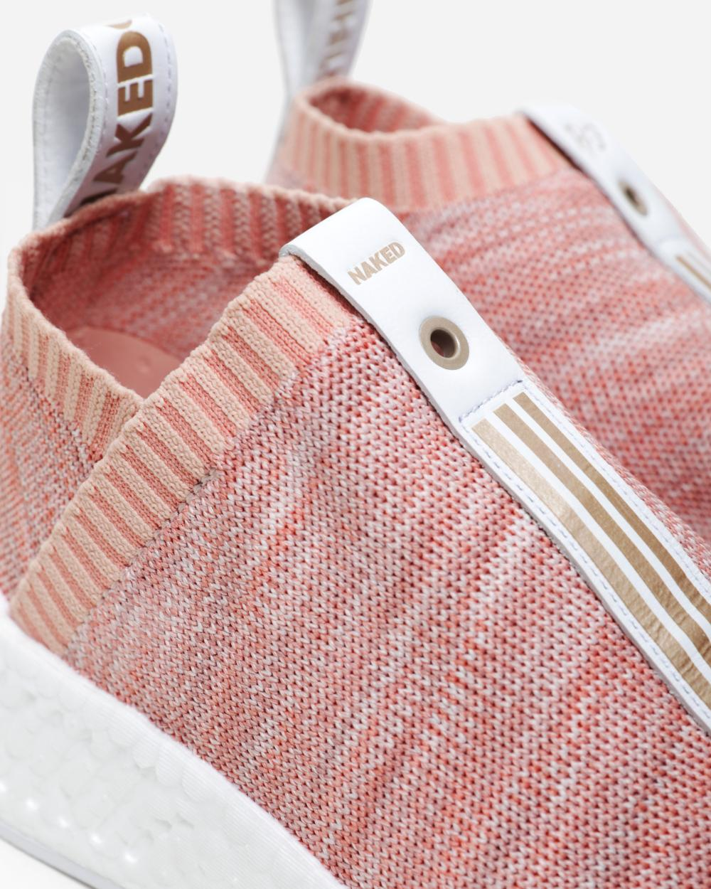 KITH x NAKED x Adidas Consortium NMD CS2 sneakers sandst