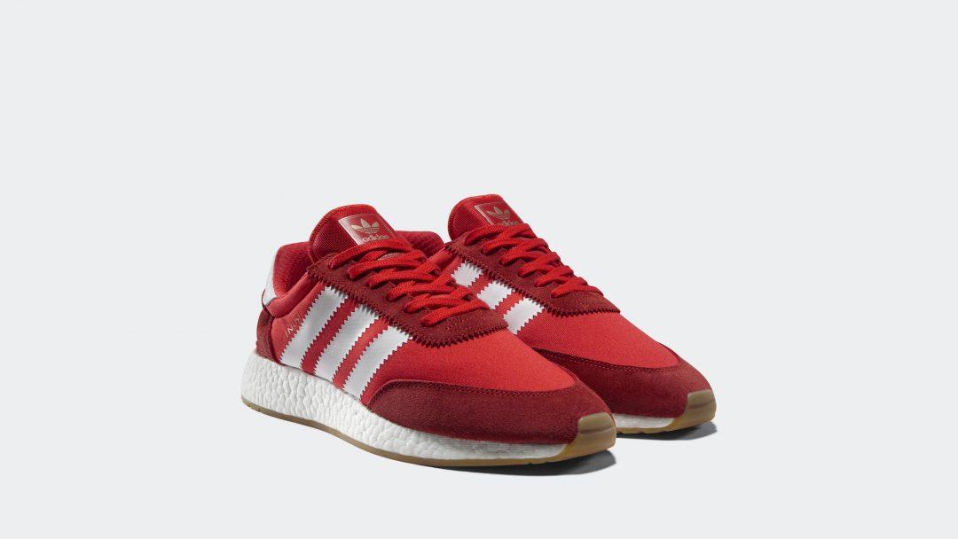 Adidas Adidas Originals Baskets Coureur Iniki - Rouge zHpje