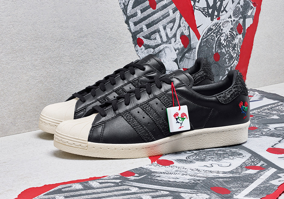 Take a Look at the adidas Originals 'Year of the Rooster' Pack