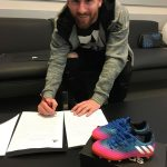 Lionel Messi Signs Lifetime Deal with adidas