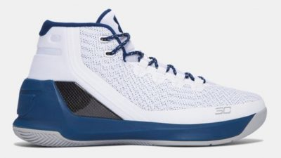 under armour curry 3 white/navy 3