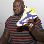 Shaq Launches the Sneaker Politics Shaq Attaq 'Alma Mater' with Dee Brown