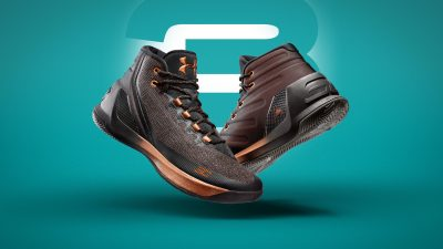 under armour Curry 3 Brass Band