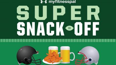 under armour MyFitnessPal Super Snack Off connected fitness data 2