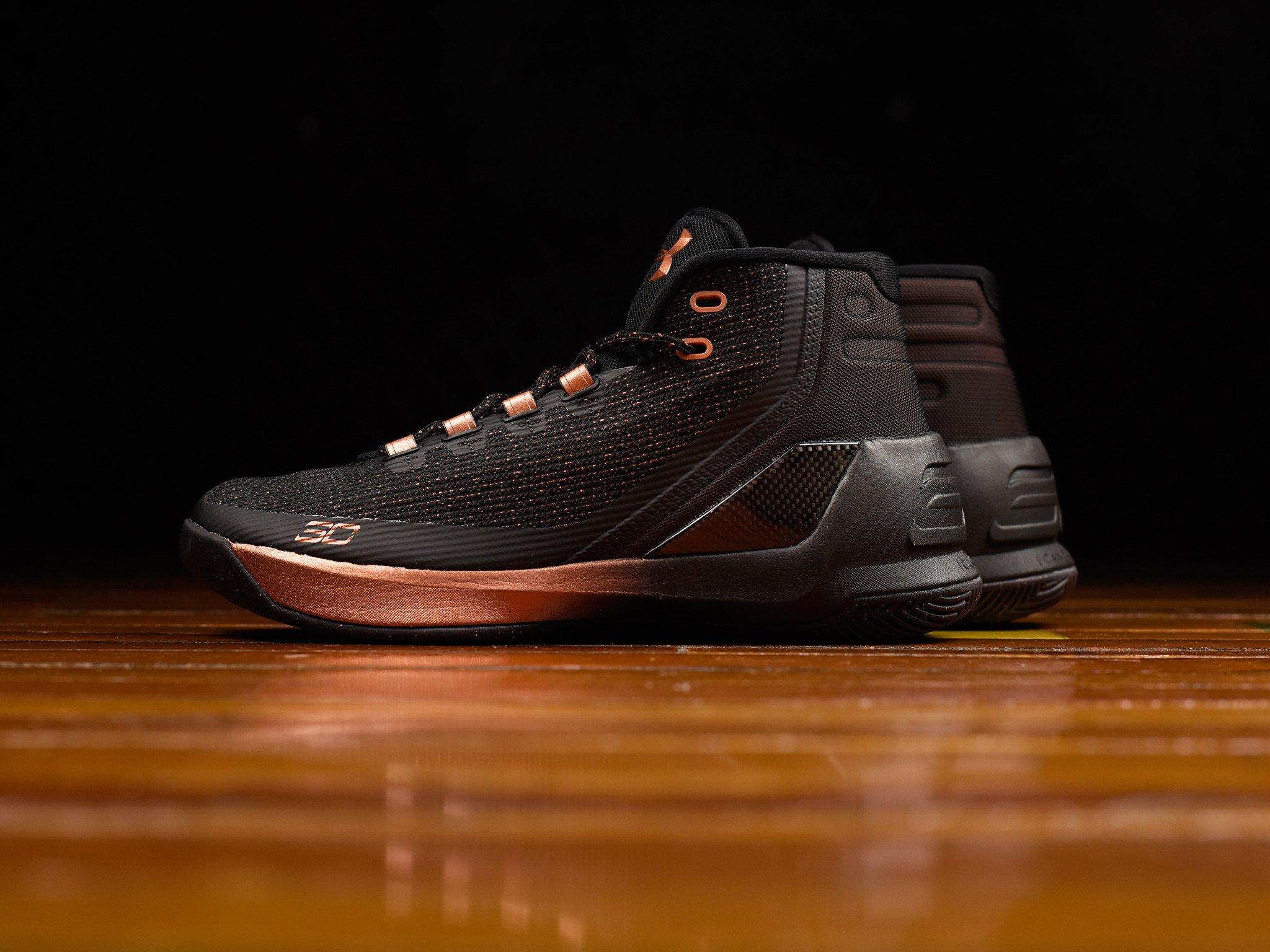 Orange Under Armour Basketball Shoes