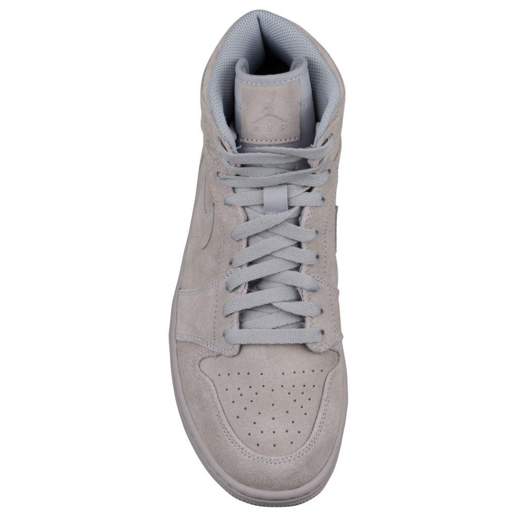 Air Jordan 1 Retro High Suede - Wolf Grey - Top