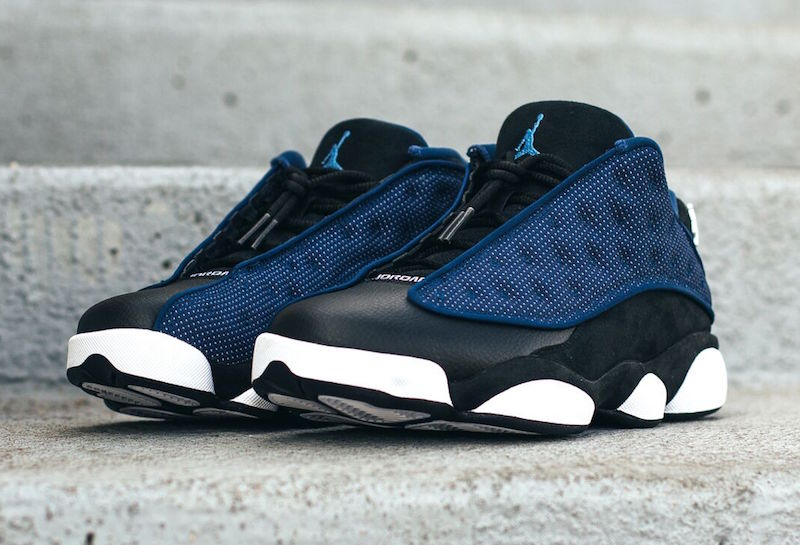 cheap for discount fab41 a3c70 Another Look at the Air Jordan 13 Retro Low 'Brave Blue ...