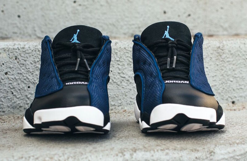 1962d6bf71cc ... Another Look at the Air Jordan 13 Retro Low  Brave Blue  - WearTesters  ...