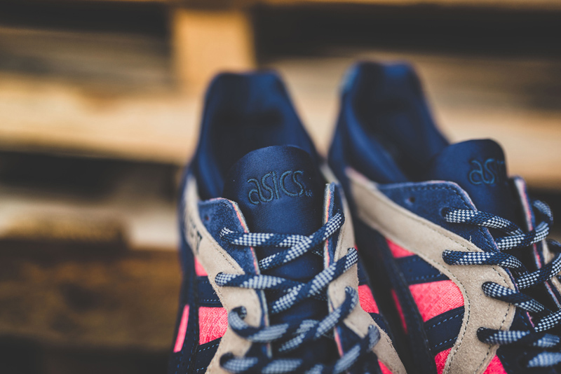 outlet store d7a34 27371 Asics Gel-Lyte V peach indigo blue 1 - WearTesters