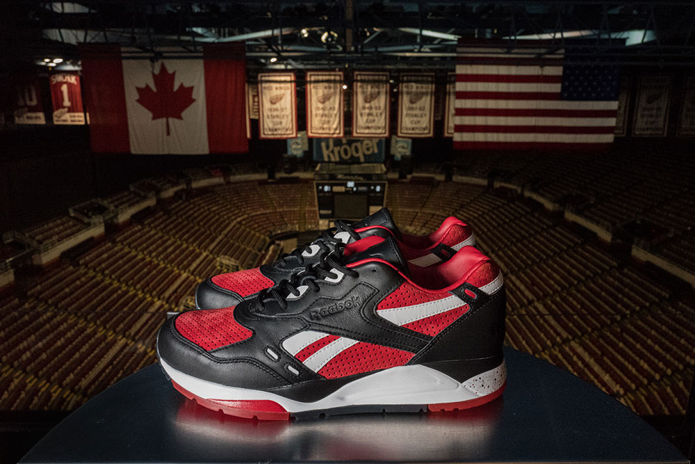 Burn Rubber x Detroit Red Wings x Reebok Bolton 2