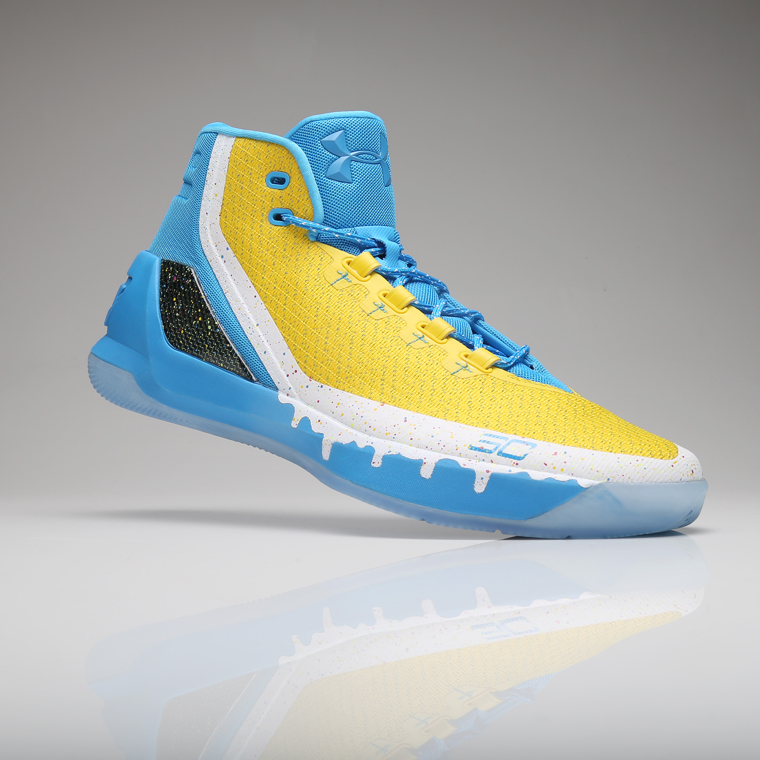 Under Armour UA Curry 1 One Steph AWAY Black Taxi 1258723 001