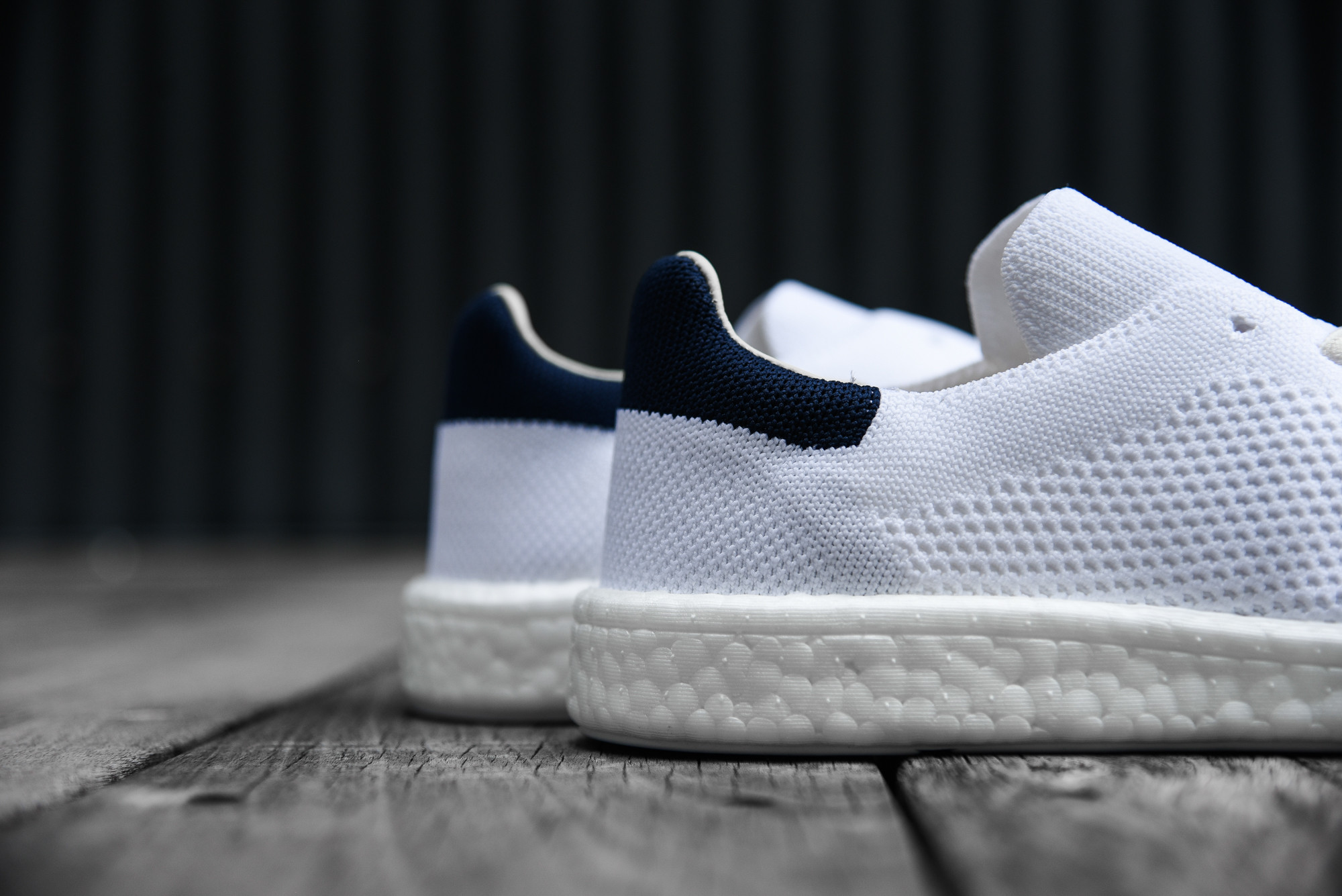 adidas primeknit stan smith blue