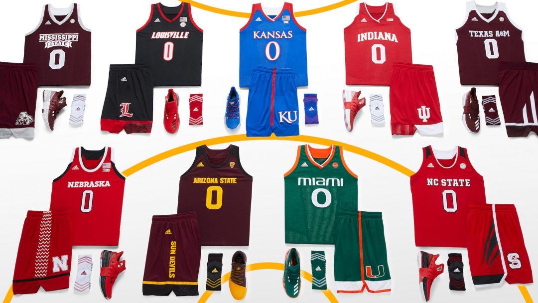 adidas Unveils New Men's and Women's Uniforms for the NCAA Basketball Postseason - WearTesters