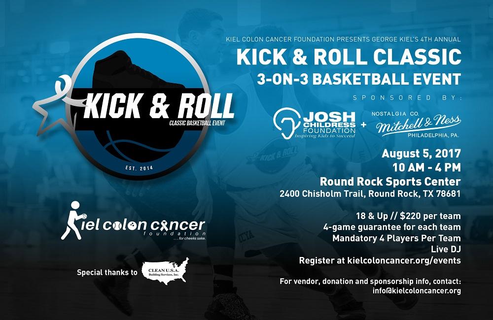 The Kiel Colon Cancer Foundation Presents The 4th Annual Kick Roll Classic Weartesters