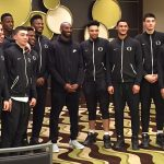 Kobe Bryant Pays the Oregon Ducks a Visit Before Their Final Four Game