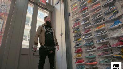 sneaker shopping enzo amore 1