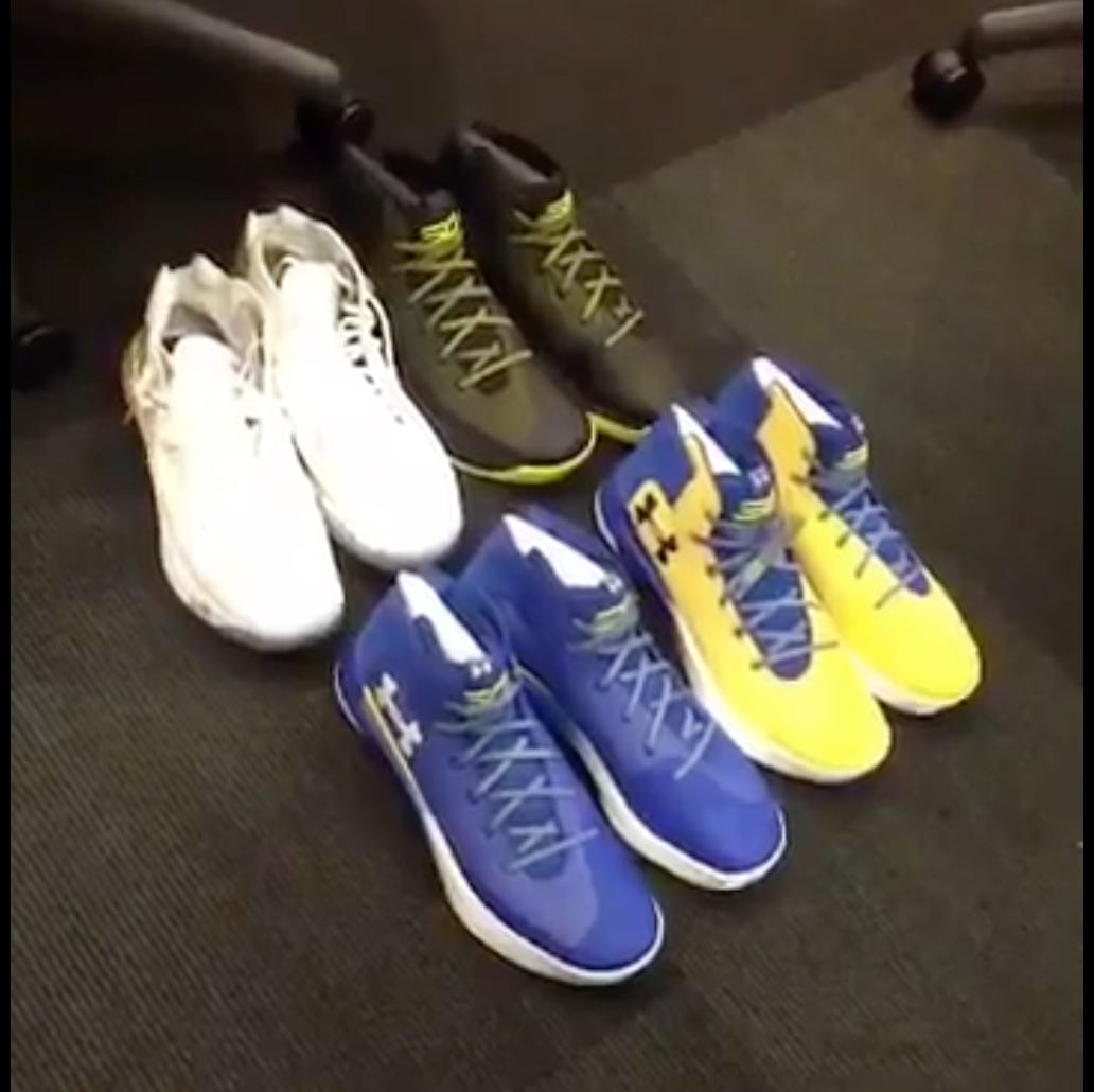under armour curry 3ZER0 locker room