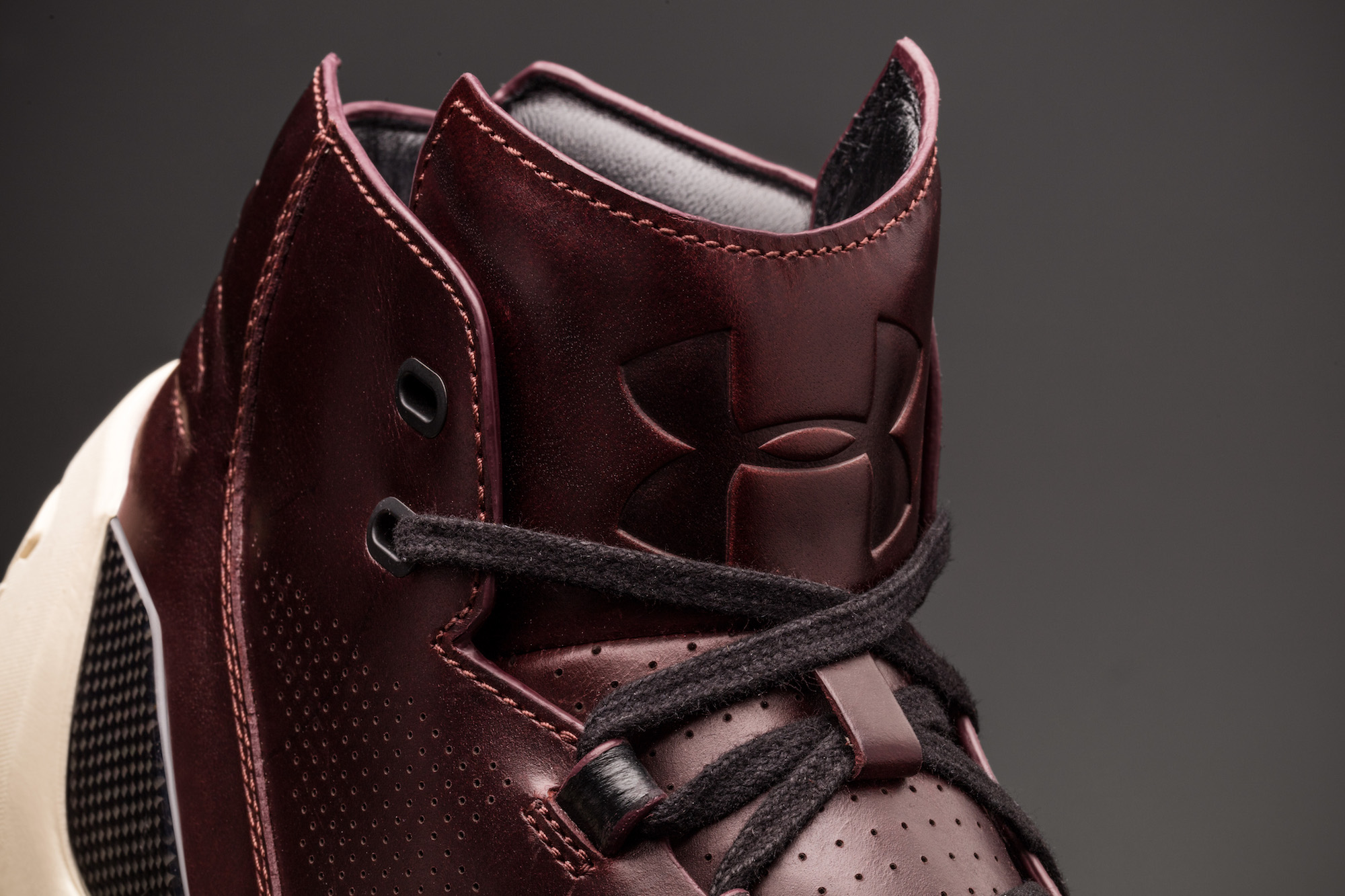 under armour curry lux ox blood 8
