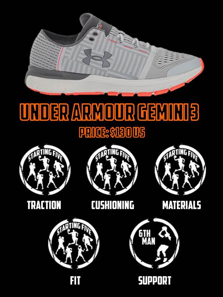 under armour gemini 3 scorecard