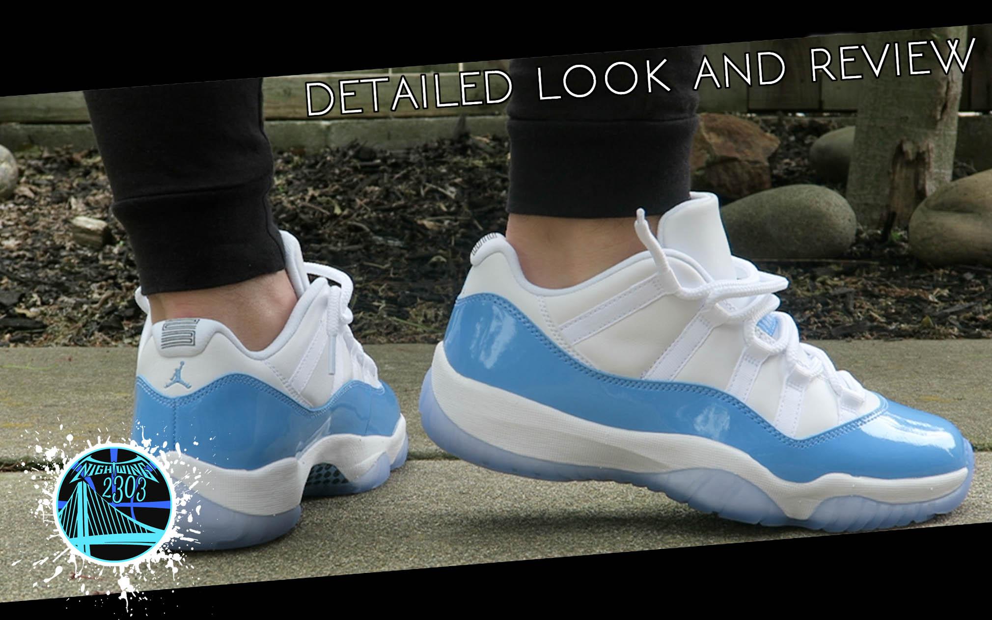 huge discount 8fd7f 0d5e3 Air Jordan 11 Retro Low 'University Blue' | Detailed Look ...