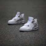 Get Up Close and Personal with the 2017 Air Jordan 4 Retro 'Pure Money'