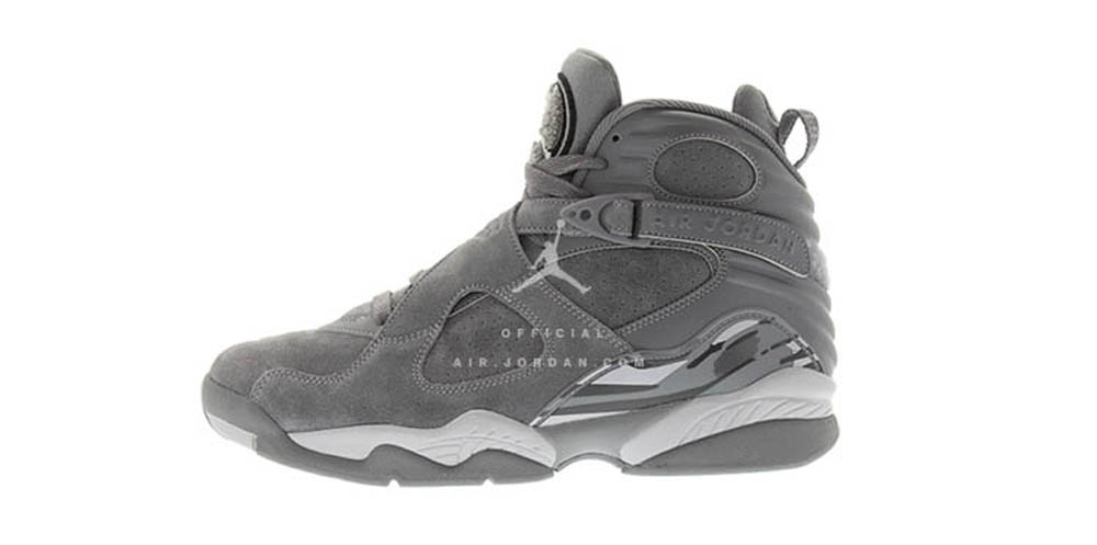 finest selection 115e5 303a7 A First Look at the Air Jordan 8 Retro 'Cool Grey' - WearTesters