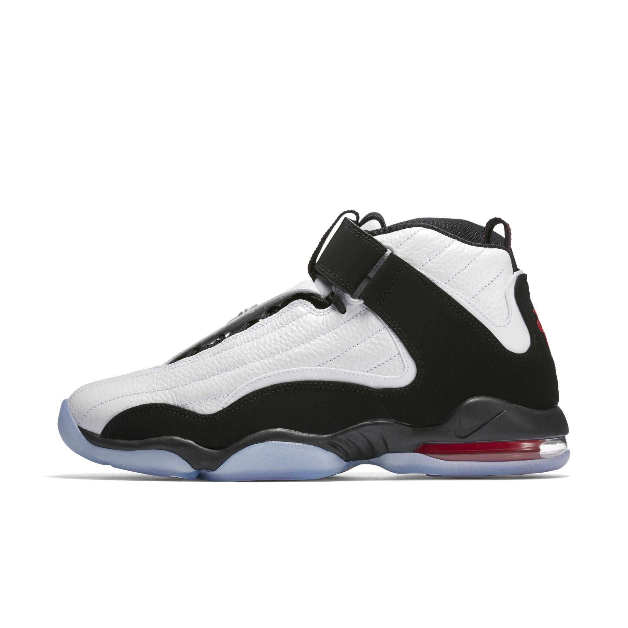 Nike-Air-Penny-4-White-Black-True-Red-1
