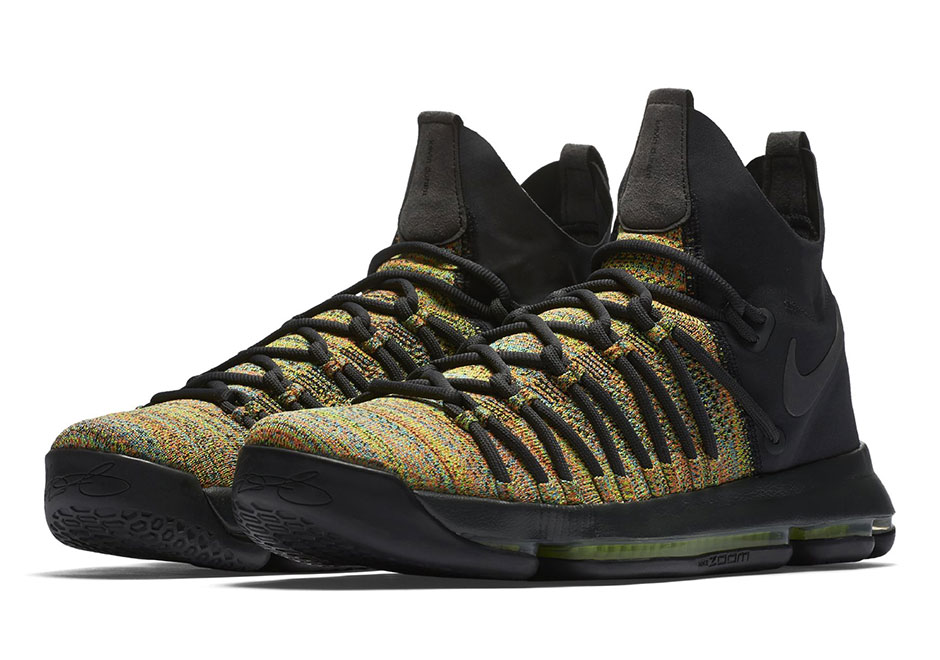san francisco a6987 0e1e9 Nike KD 9 Elite 'Multi-Color' - WearTesters